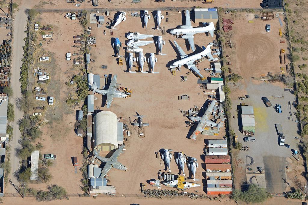 Specialized Aircraft Maintenance Scrapyard Tucson Az