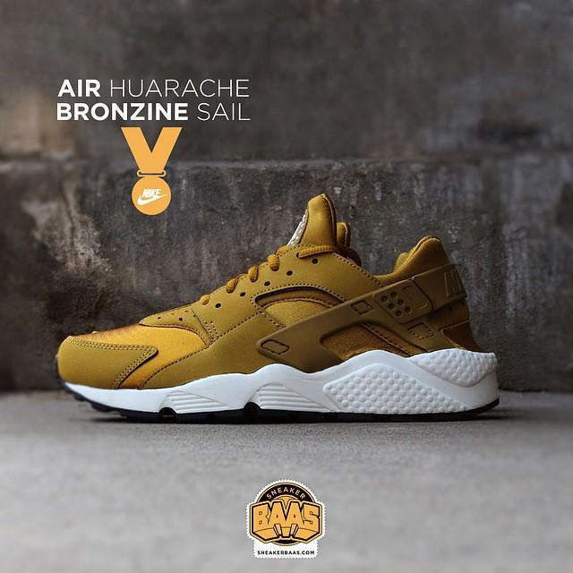 5cbdc3e0a459 ... best price huarache bronzine sail sneakerbaas baasbovenbaas nike air  huarache bronzine 44b39 24c5c
