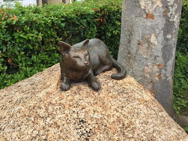 夏目漱石の碑 #4