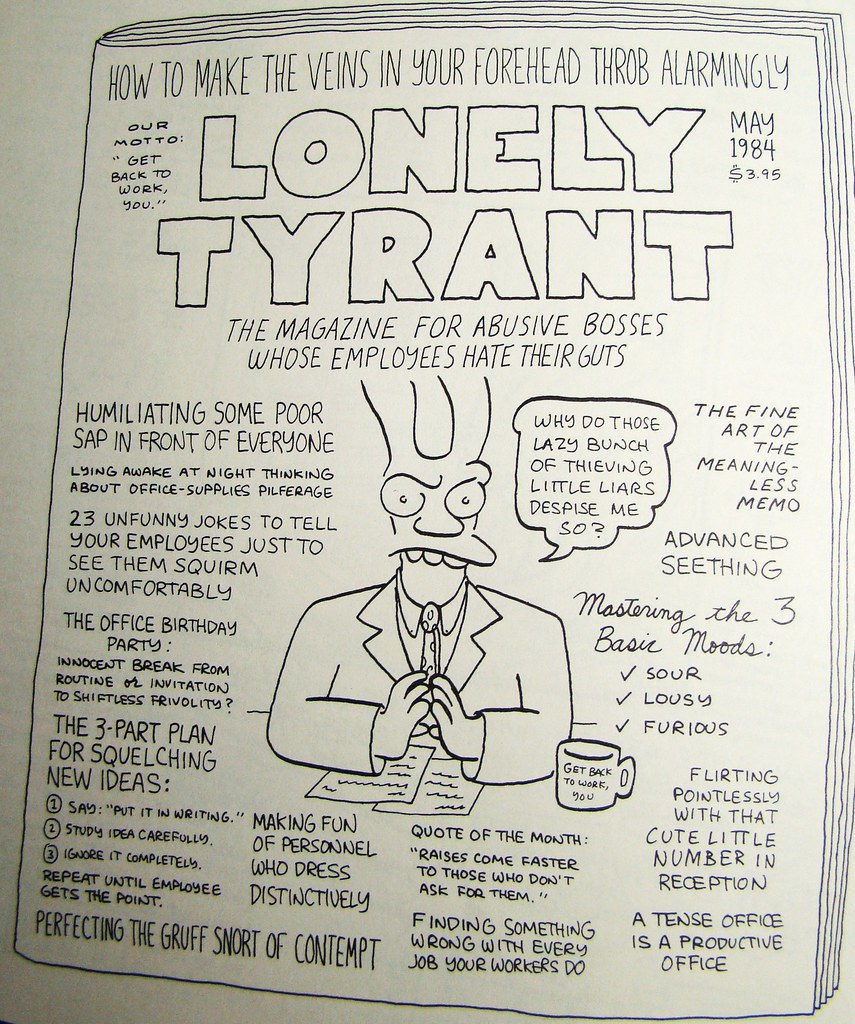 Golden age of niche magazines lonely tyrant boss from flickr golden age of niche magazines lonely tyrant boss from hell by ramalama22 stopboris Images