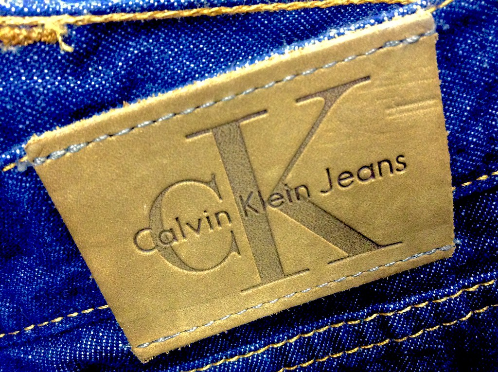 Calvin Klein Jeans label, 2/2015, by Mike Mozart of TheToy ...