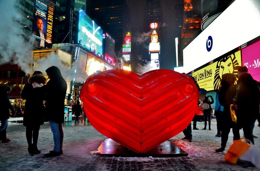 HeartBeat: 2015 TSq Valentine Heart