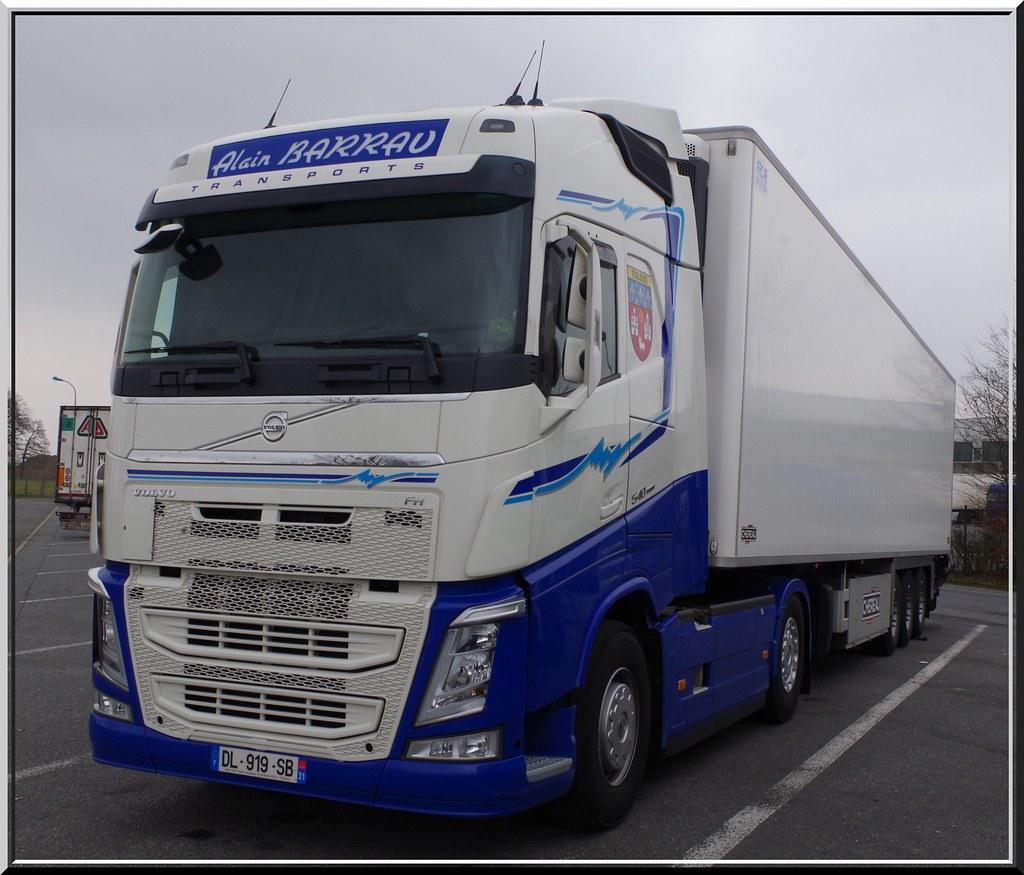 Volvo New Fh16 540 Globetrotter Transports Alain Barrau