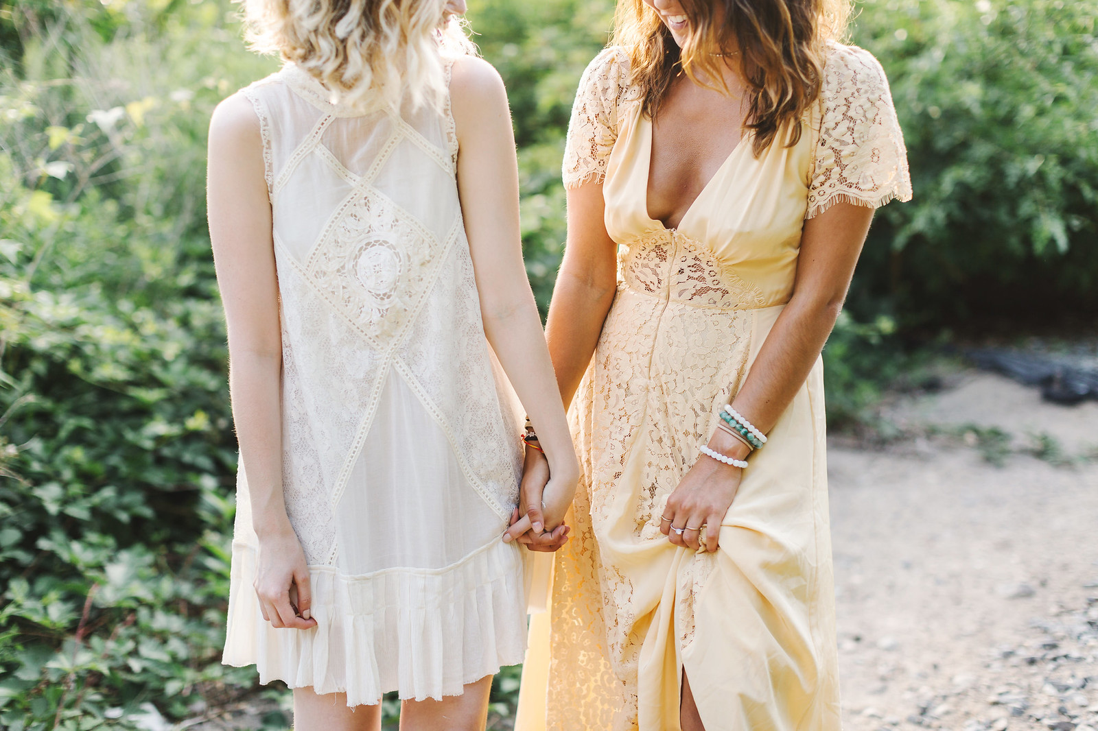Free People Lace Dresses // Photo for Free People by Lena Mirisola on juliettelaura.blogspot.com