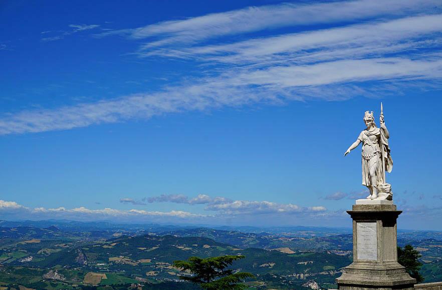 San Marino Statue of Liberty
