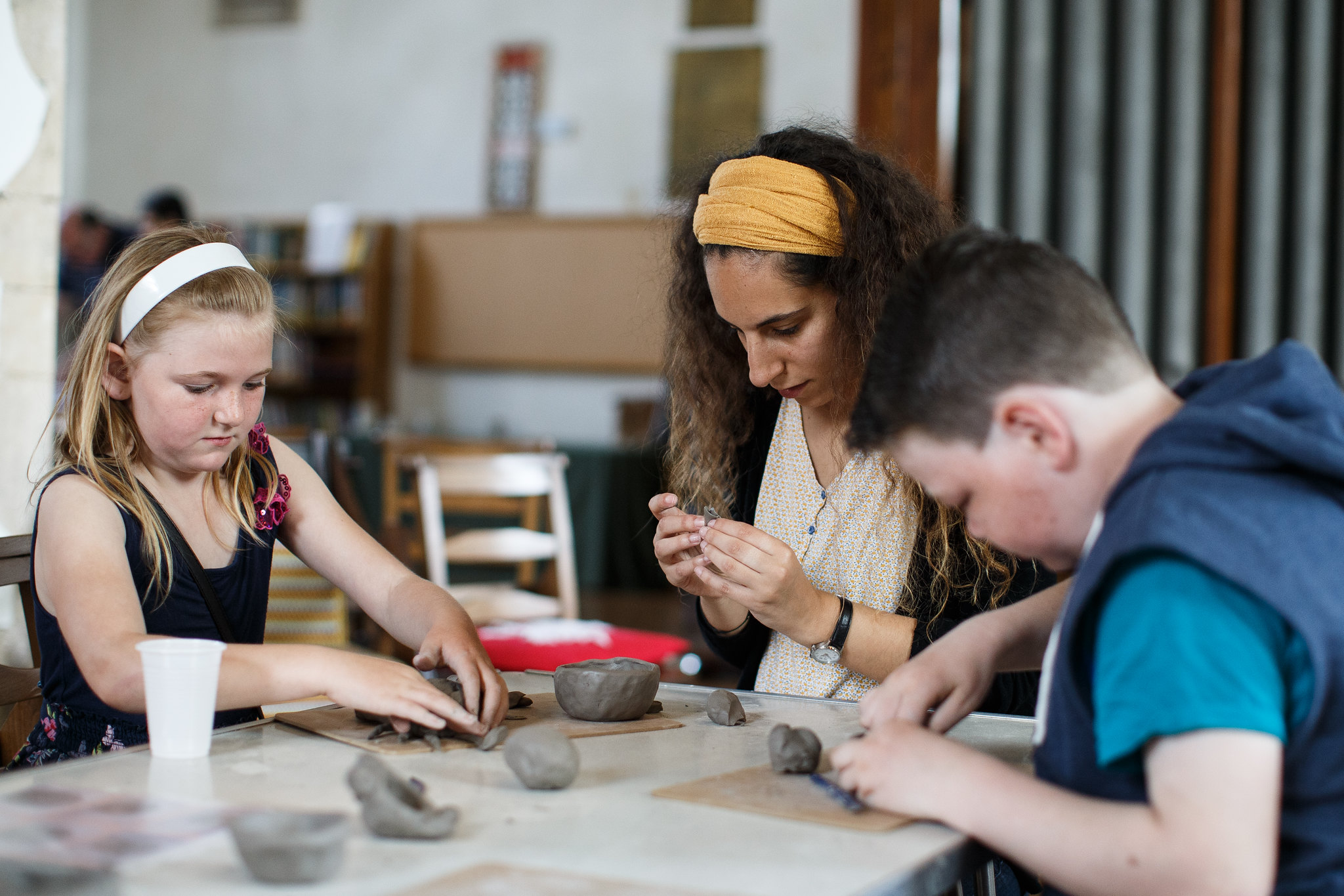 Getting crafty - medieval inch pot making at St Peter's church