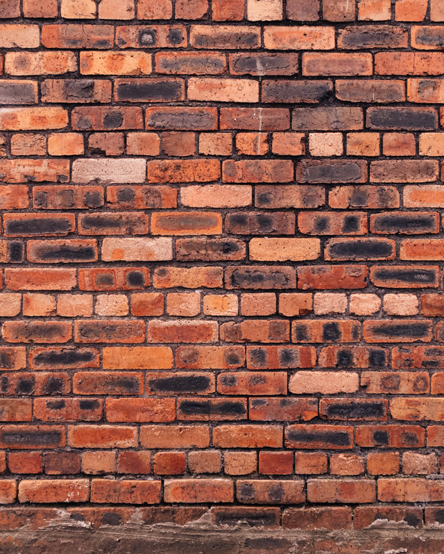 interesting brick wall