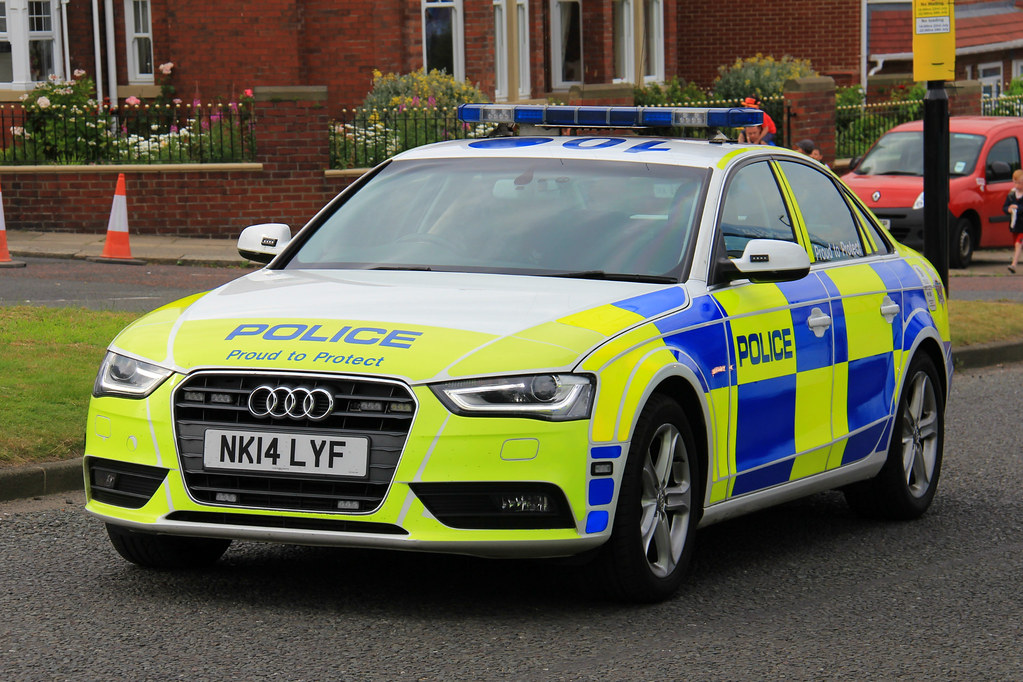 Northumbria Police Audi A4 Roads Policing Unit Traffic Car