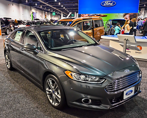 ford 2015 fusion titanium hybrid auto show 2014 motor tren flickr. Black Bedroom Furniture Sets. Home Design Ideas