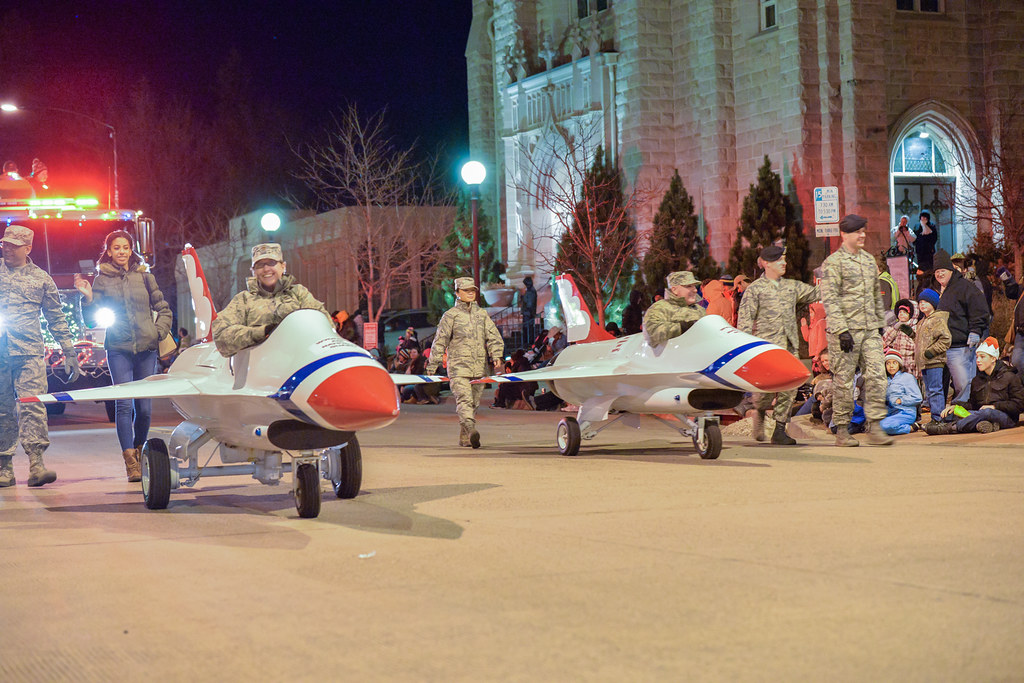 Cheyenne Christmas Parade (5)   U.S. Air Force Chief Master …   Flickr