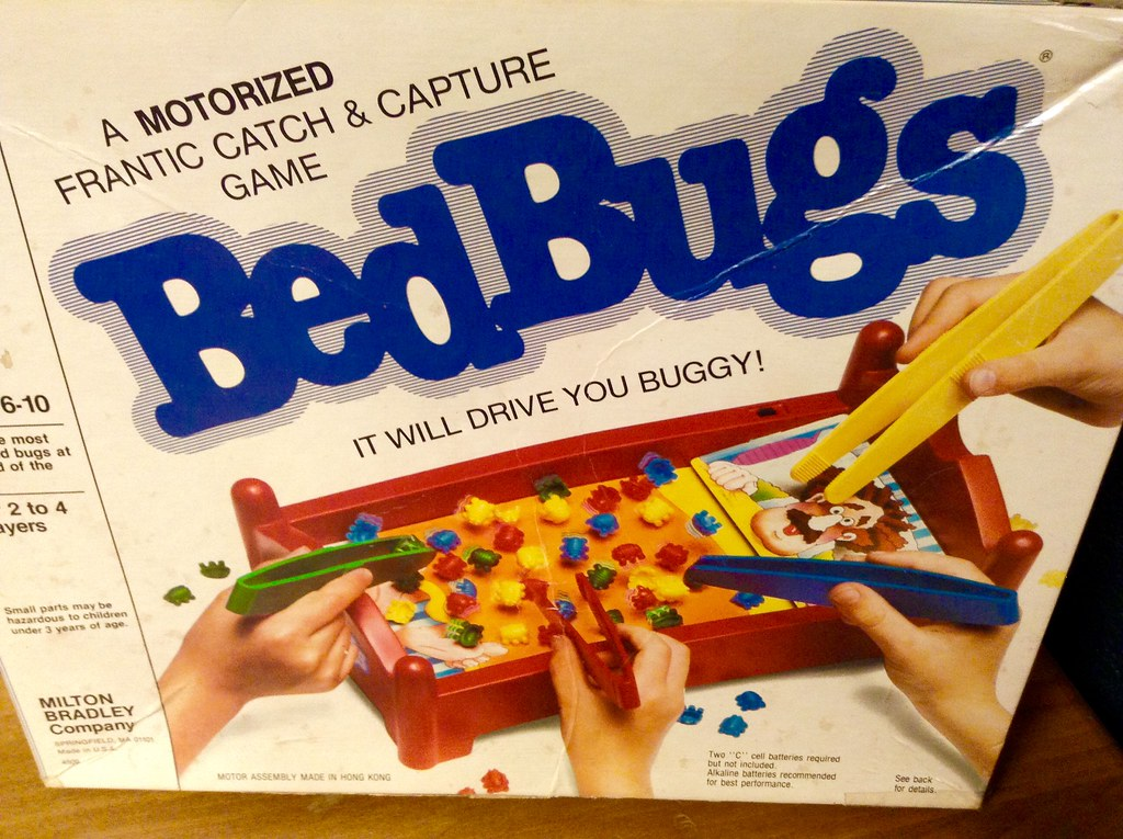 Bedbugs Game 1985 By Milton Bradley Pics By Mike Mozart O Flickr