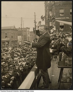Sept 9 - President Roosevelt addressing the public in Asheville * | by Foto Jennic