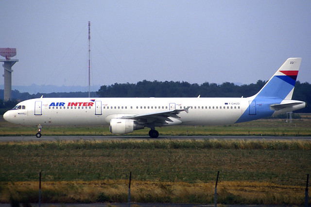 Air Inter A321-111 F-GMZD TLS 25/07/1995