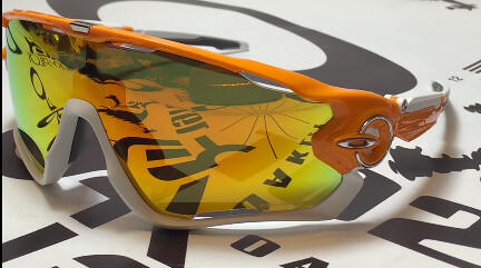 Oakley Jawbreaker Orange