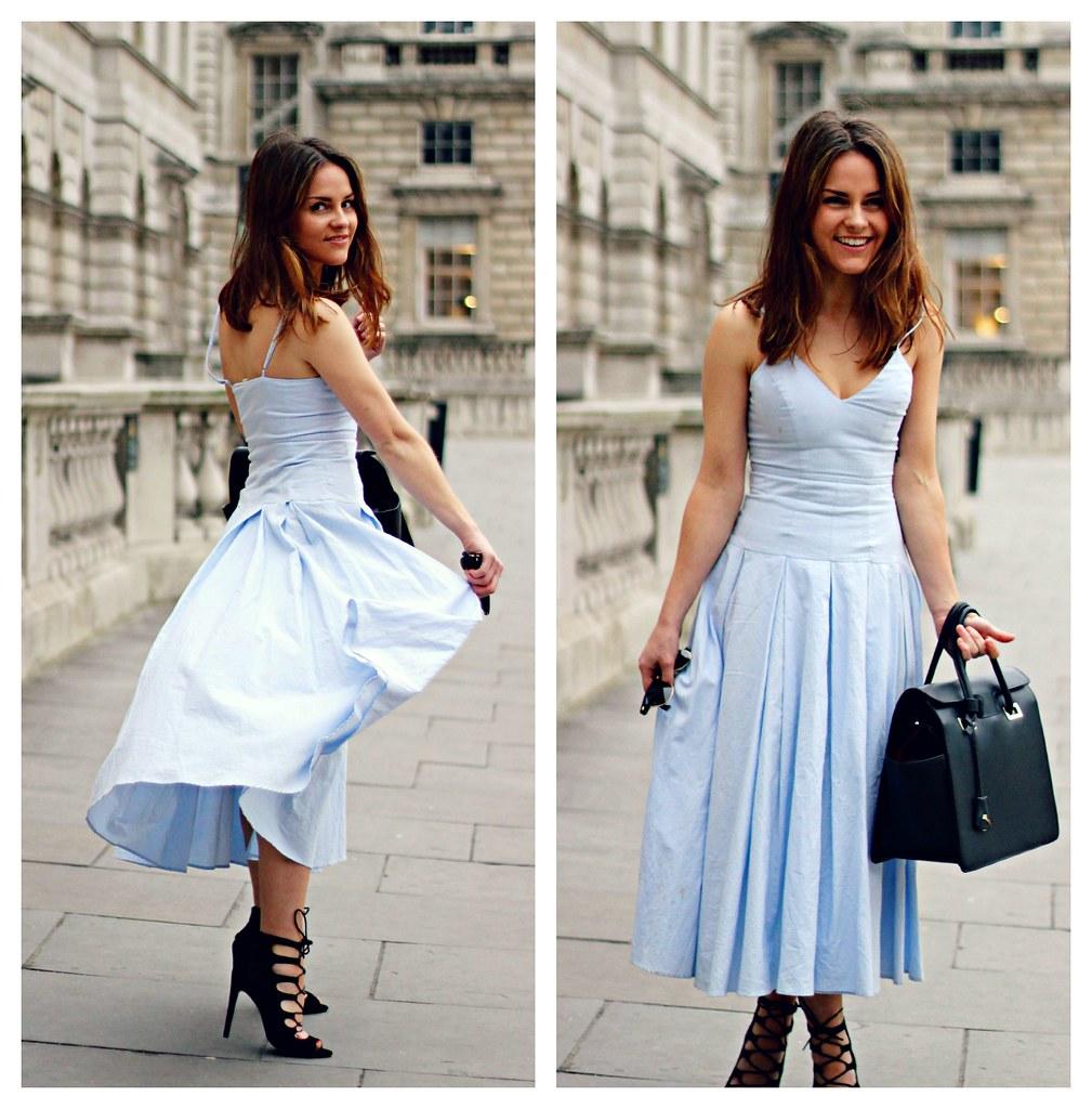 Blue Cinderella Inspired Prom Dress 5 Magpie132 Flickr