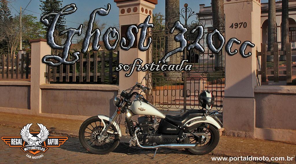 TESTE:  GHOST 320cc
