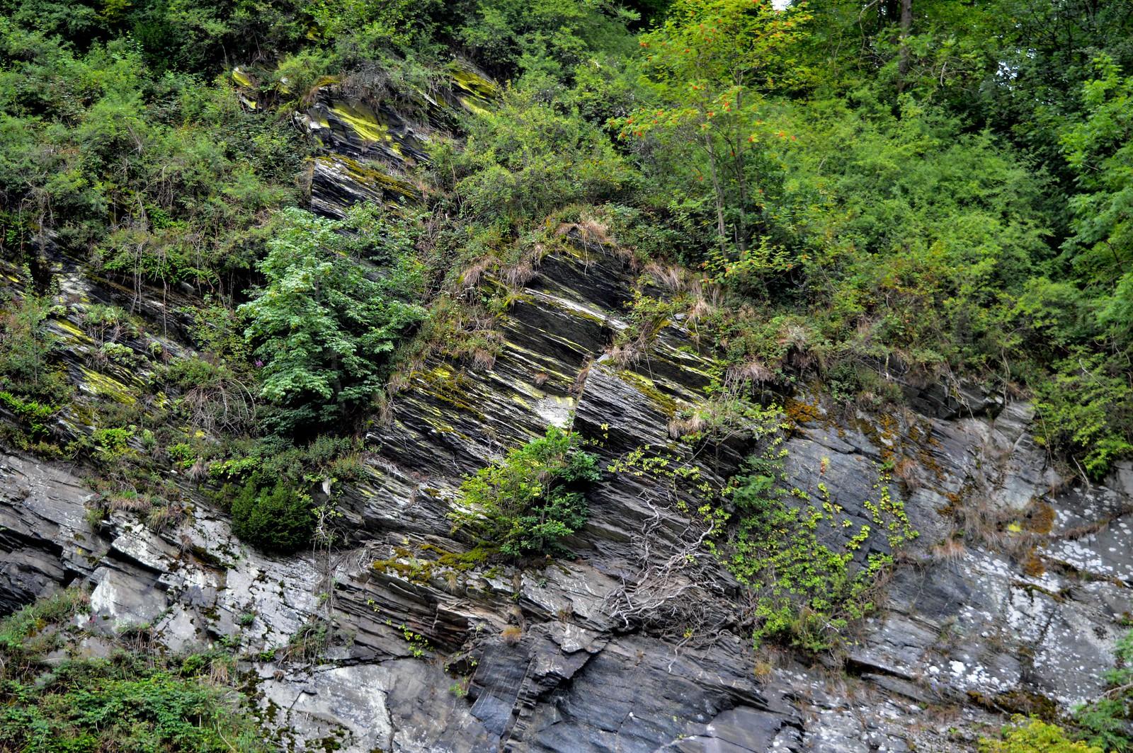 Geological feature in the German Eifel region.