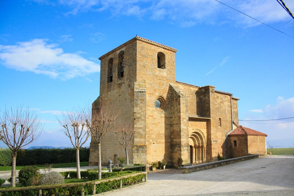 Iglesia de San Andrés, Zariquiegui, Navarra :: Albergues del Camino de Santiago