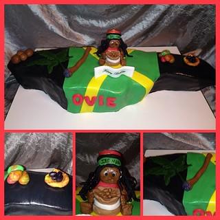 Jamaican Flag Cake Pan