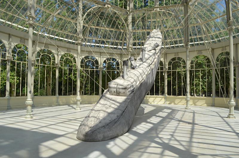 Art exhibition, Crystal Palace, Park de El Retiro, Madrid