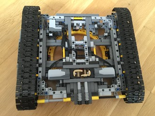Lego 42055 - motorized chassis | by carver0510