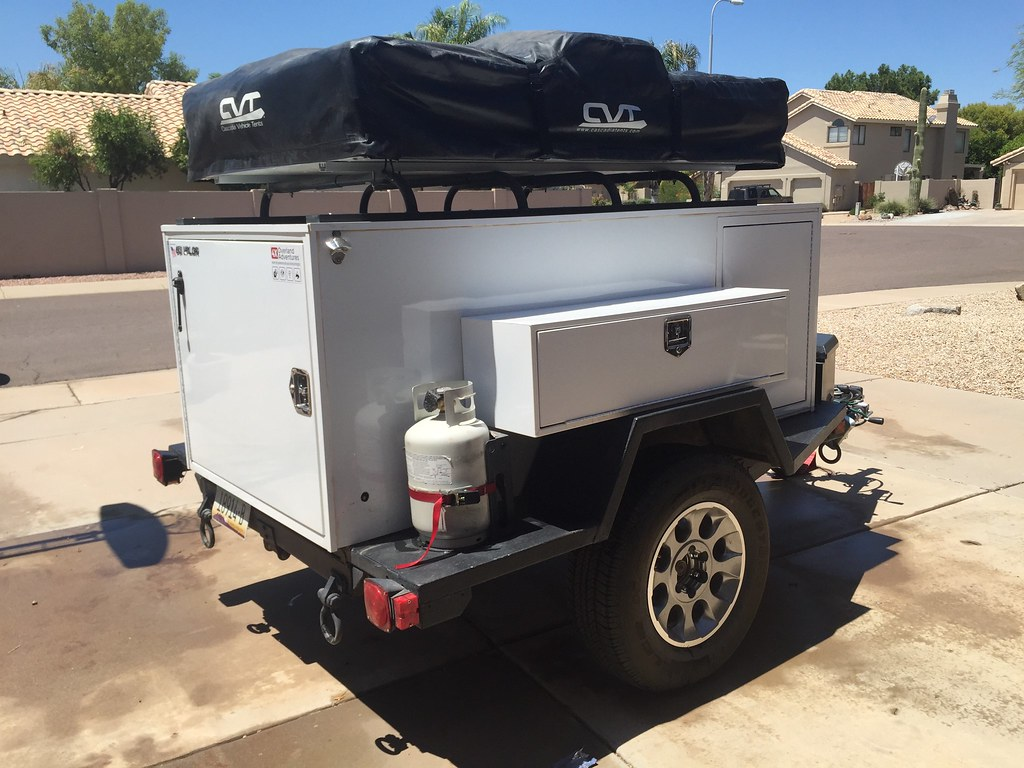For Sale Expedition Trailer With Cvt Rtt In Az Toyota Fj