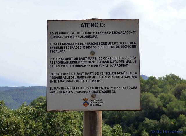 La Soleia (Sant Martí de Centelles) -01- Cartel Reglamentación Municipal 01