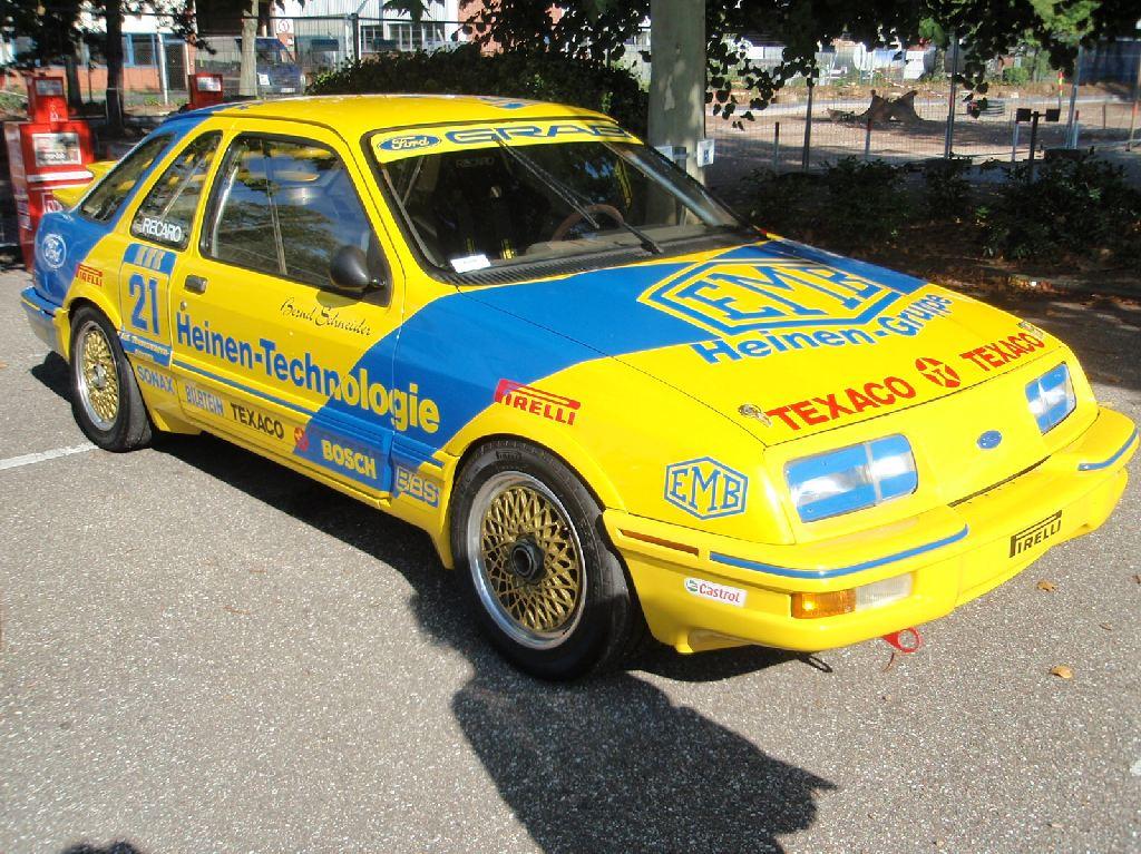 Ford Sierra Xr4i Racing Car Granada Uwe Flickr