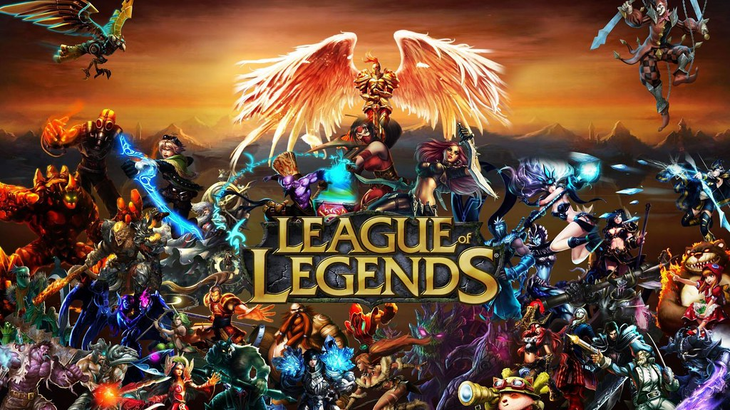 League Of Legends By Sangpendosa On
