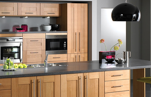 Oak Shaker Kitchen Cabinet Doors
