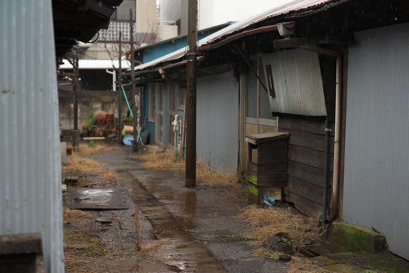 東京路地裏散歩 雨の荒川区荒川 2015年2月26日