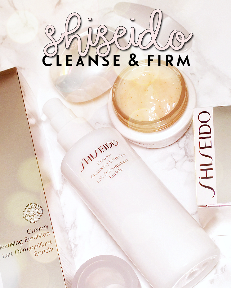 shiseido creamy cleansing emulsion and firming masage mask (3)