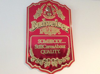 Budweiser sign | by Thornhill Auction