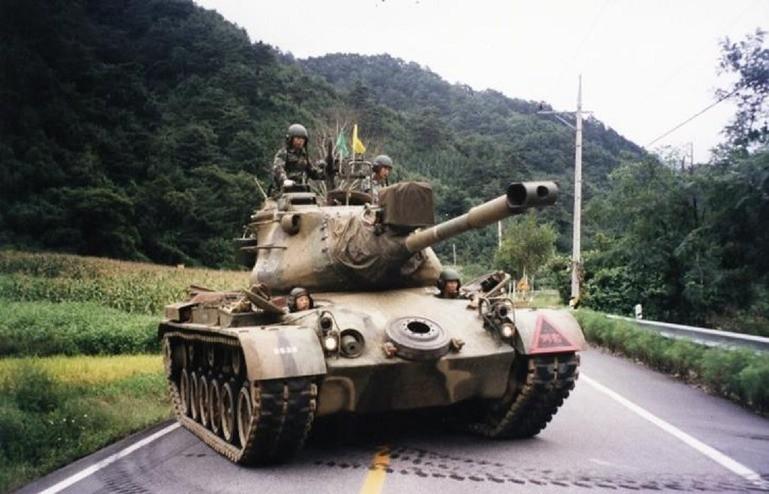 South Korean Marine Corps M47 Patton tank | Kadir Aksoy ...