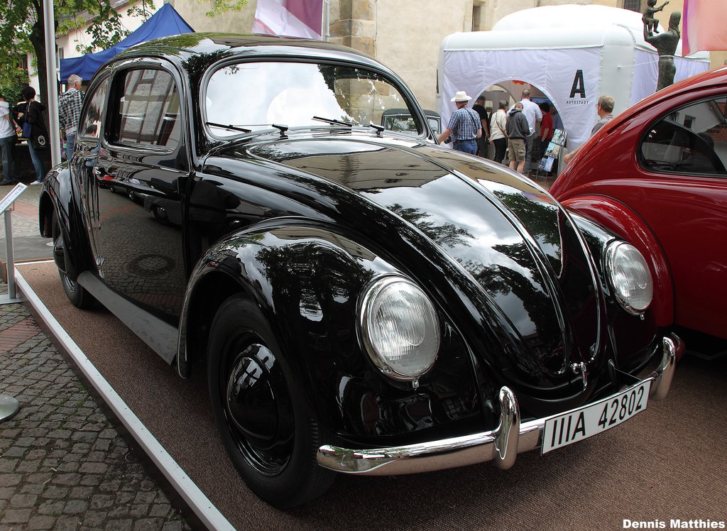 Oldest Beetle A 1938 Porsche Typ60 At The Vintage Vw