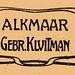 Uitgeverslogo Gebr. Kluitman Alkmaar 1905