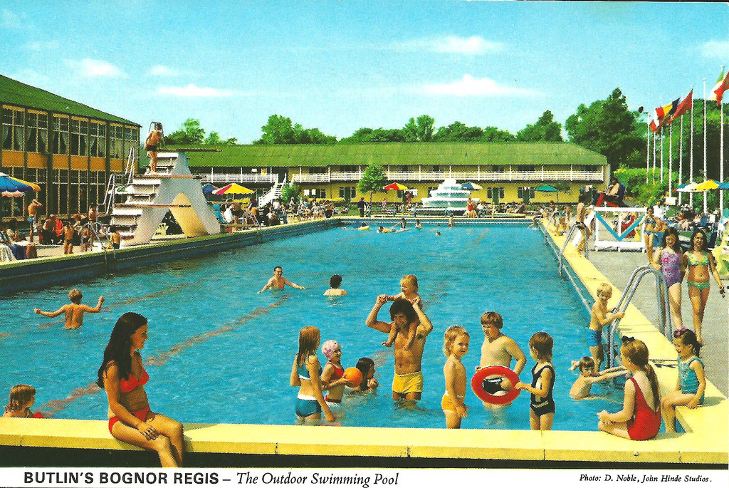 Butlins Bognor Regis Outdoor Pool Retroslides Flickr