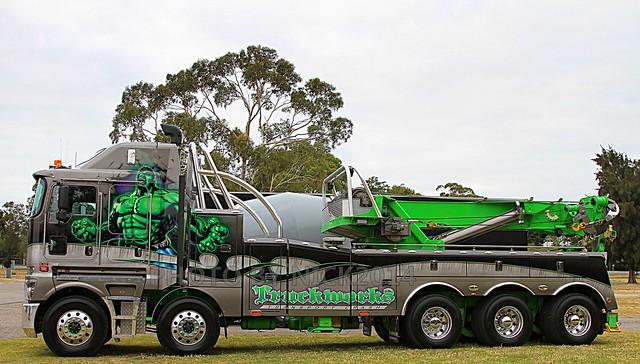 truckworks kenworth k200 with 75 ton rotator flickr photo sharing. Black Bedroom Furniture Sets. Home Design Ideas