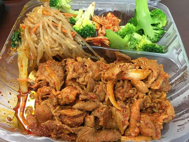 Spicy pork plate - Sorabol