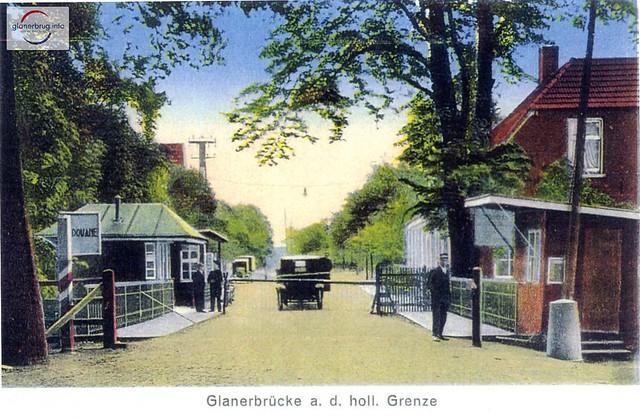 Grensovergang 1930~, Glanerbrücke a.d. holl. Grenze 001a