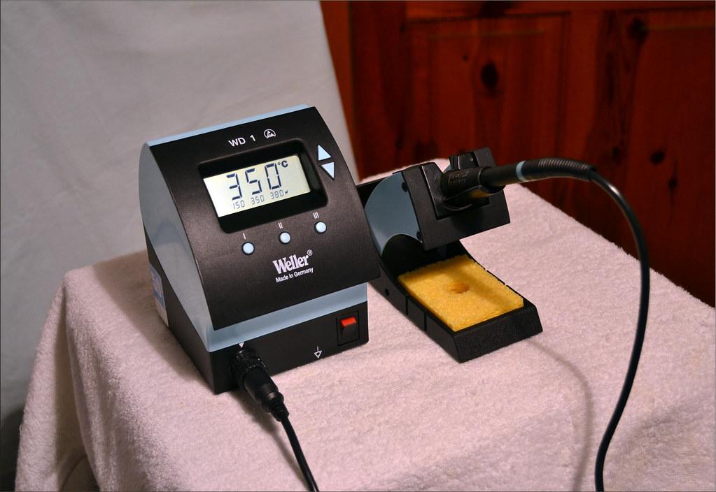 weller wd 1 soldering station nice quality made in germany flickr. Black Bedroom Furniture Sets. Home Design Ideas
