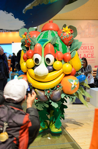 Expo 2015 Foody mascotte