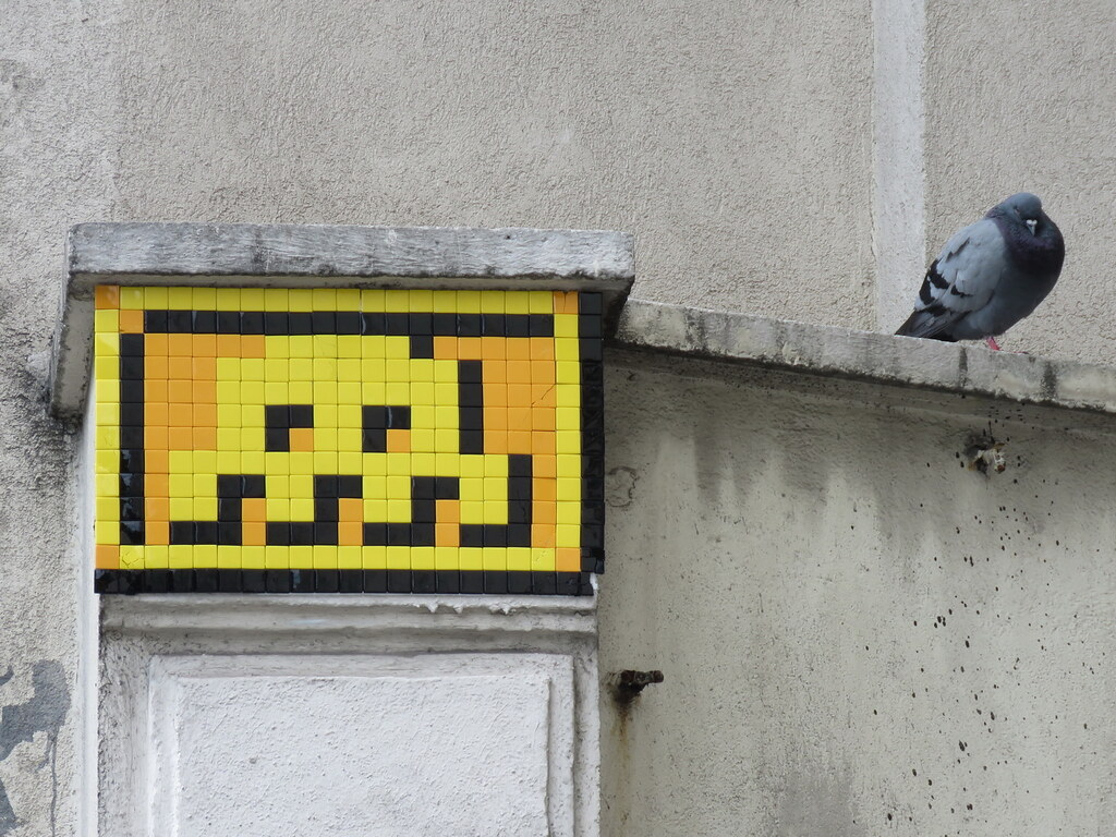 Space Invader PA_1212 | Other views of Space Invader PA_1212… | Flickr