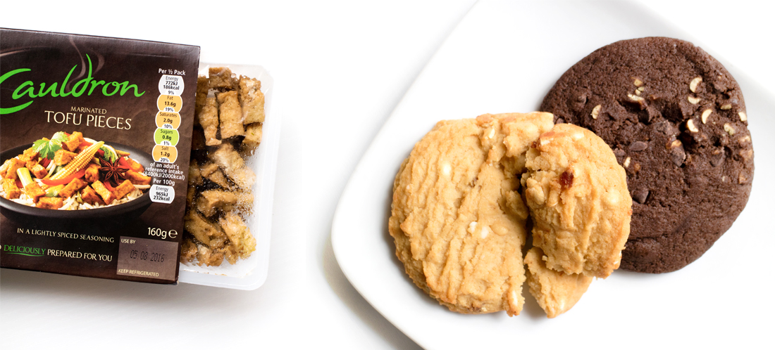 Tofu & Protein Cookies