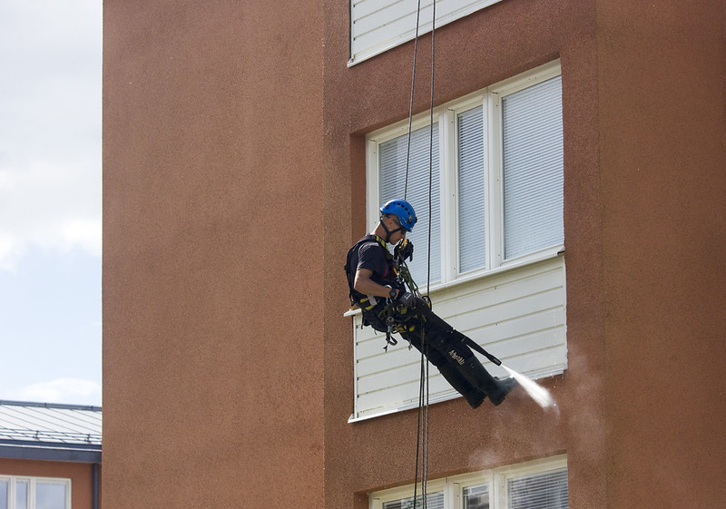 façade cleaning