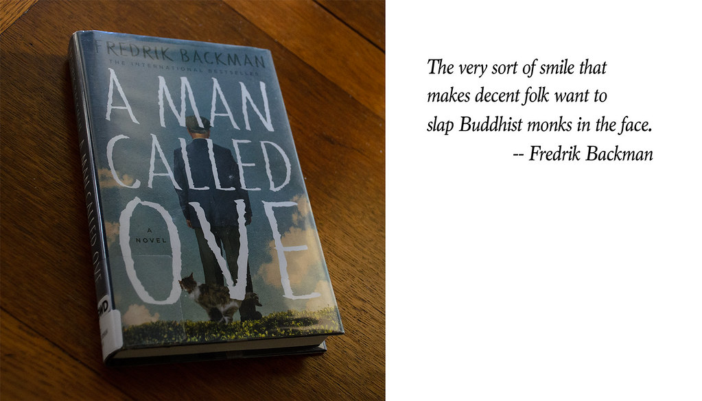 A Man Called Ove by Fredrik Backman (2015, Paperback). FRee shipping!