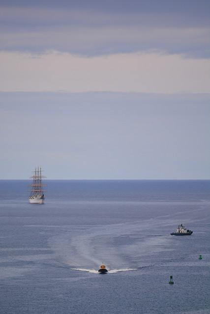 Kaiwo Maru approaching