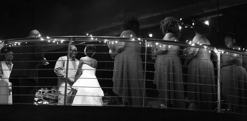 Wedding photos at NC Aquarium Fort Fisher
