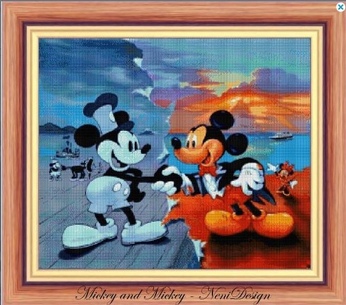 Mickey and Mickey