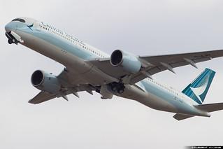 Cathay Pacific Airbus A350-941 cn 058 F-WZFH // B-LRI